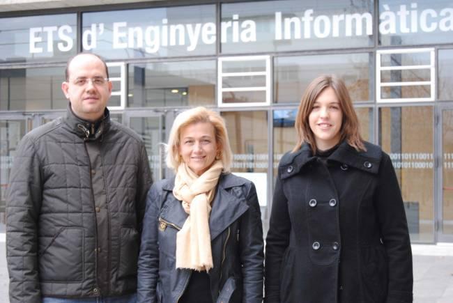 Santiago Escobar, María Alpuente y Sonia Santiago, del Grupo ELP de la Universitat Politècnica de València