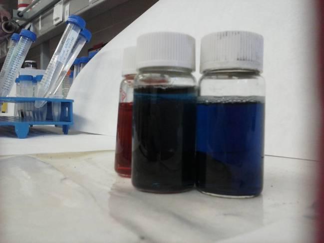 Nanopartículas en suspensión