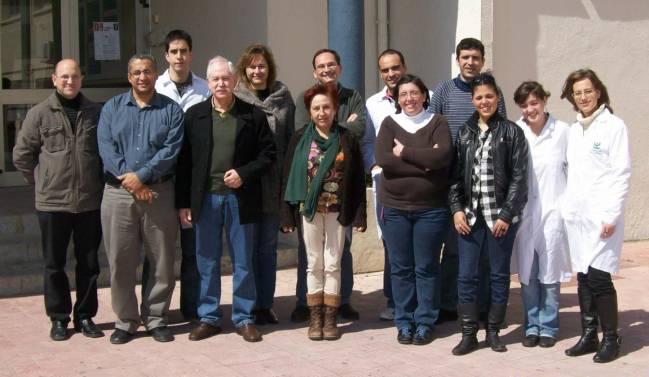Investigadores del Departamento de Química Analítica de la Universidad de Cádiz. Imagen: Fundación Descubre
