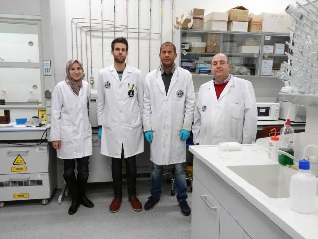 Investigadores del grupo Química Analítica de la Universidad de Jaén / Fundación Descubre