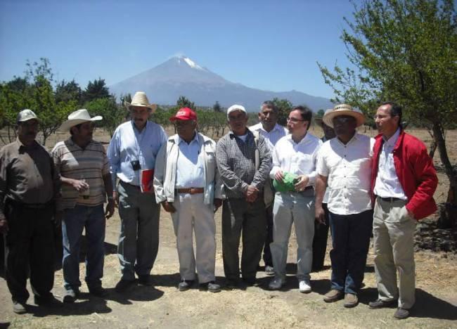 Uno de los equipos de trabajo en uno de los territorios de México en donde se implementa el modelo