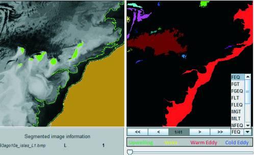 Captura del sistema diseñado por los investigadores / Fundación Descubre