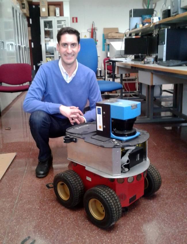 El investigador de la Universidad de Málaga Alberto Poncela, responsable del proyecto / Fundación Descubre