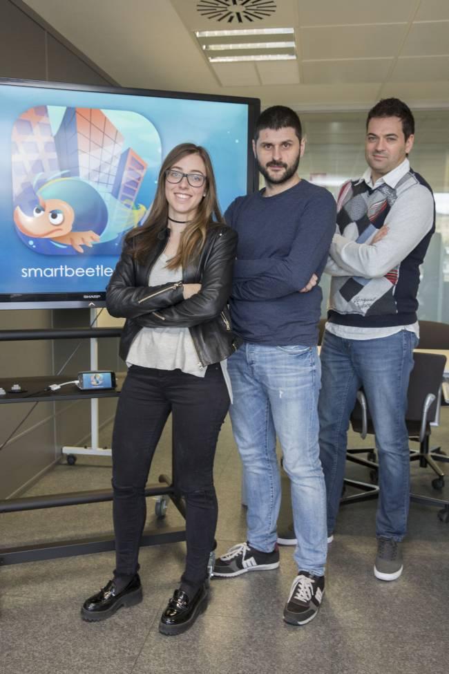Nacho Miralles, Sonia Gil  y Francisco Ramos.
