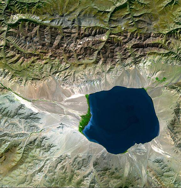 Cuenca hidráulica en Asia Central. / Wikipedia