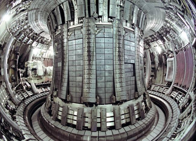 Reactor de fusión toroidal. Imagen: JET