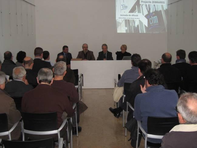 Jornada de presentació ZEBRAREG