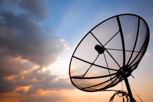 Antena receptora de televisión. / Fotolia