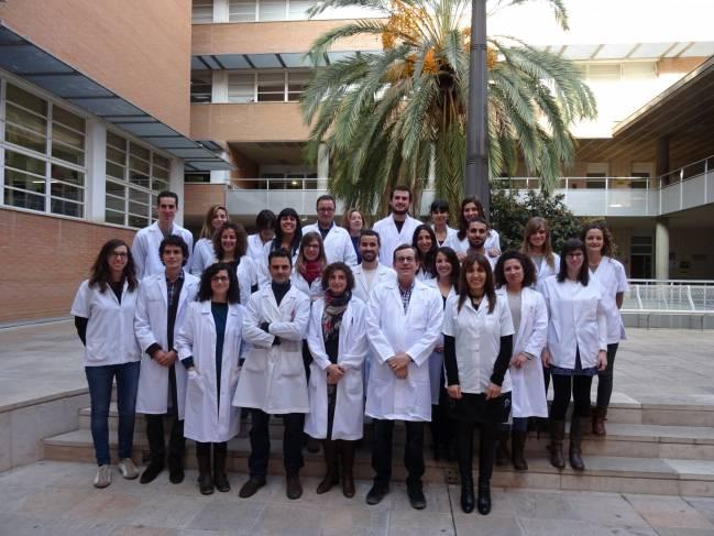 Investigadores de la Unidad de Nutrición Humana de la Universidad Rovira i Virgili, que han liderado el estudio.