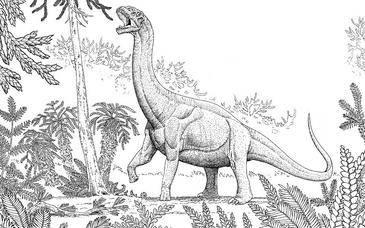 Los saurópodos podían usar sus largos cuellos para mitigar el calor corporal.