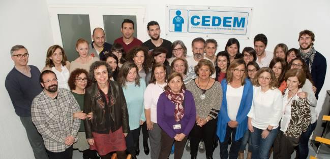 Científicas del CEDEM y del Centro de Biología Molecular Severo Ochoa