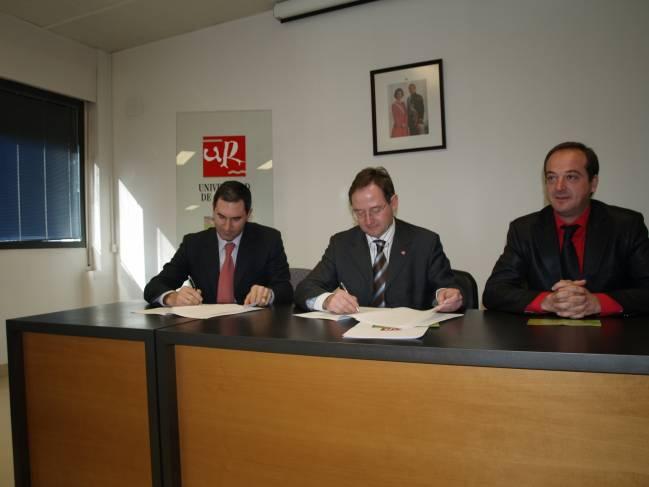 Convenio AEMA-Universidad de La Rioja.