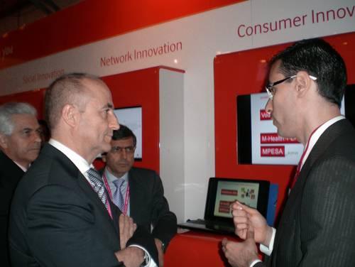 El Ministro de Industria Miguel Sebastián, pudo conocer de primera mano el innovador proyecto Persona