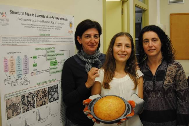 Las investigadoras Isabel Hernando (UPV), Julia Rodríguez (UPV) y Ana Salvador (CSIC).
