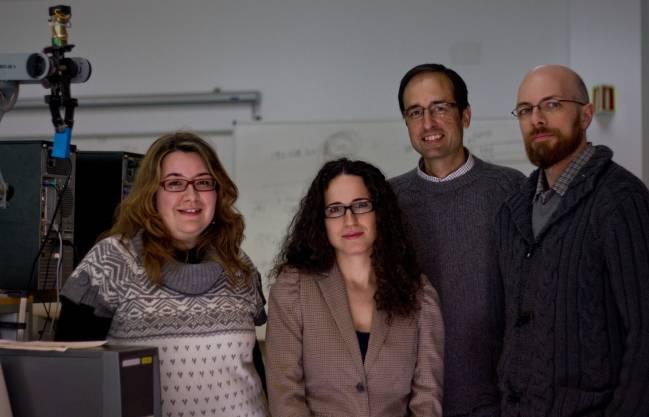 Rosa Yáñez, Gema López, José Luis Sevillano y Daniel Cascado, investigadores de la Universidad de Sevilla del proyecto Procur@