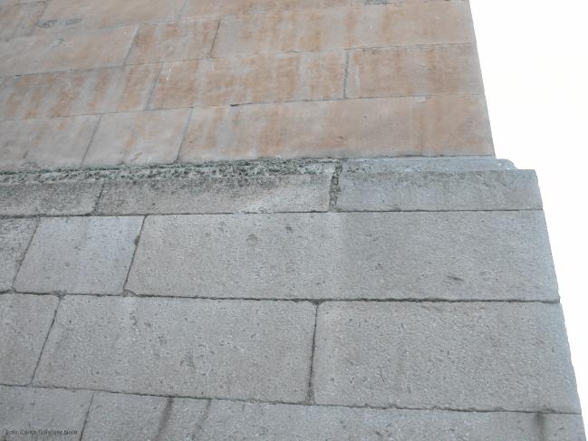 El estudio promueve la restauración de edificios con materiales de las canteras originales.