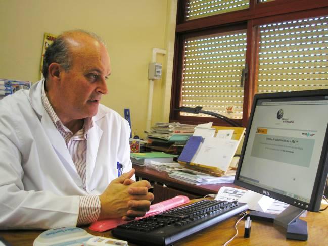 Ángel Delgado, investigador principal del proyecto