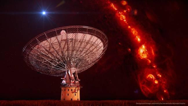 El radiotelecopio Parkes en Australia / Swinburne Astronomy Productions