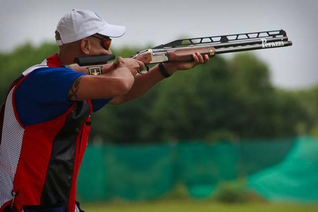 Practicante de tiro olímpico. / Wikipedia