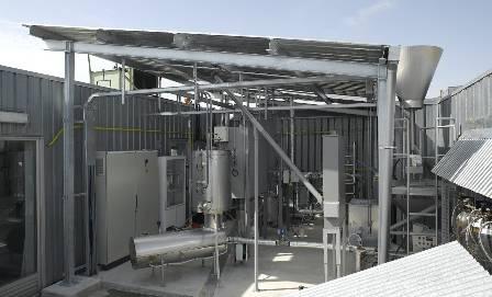 Instalación piloto que se ha puesto en marcha en el centro de investigación IK4-Ikerlan.