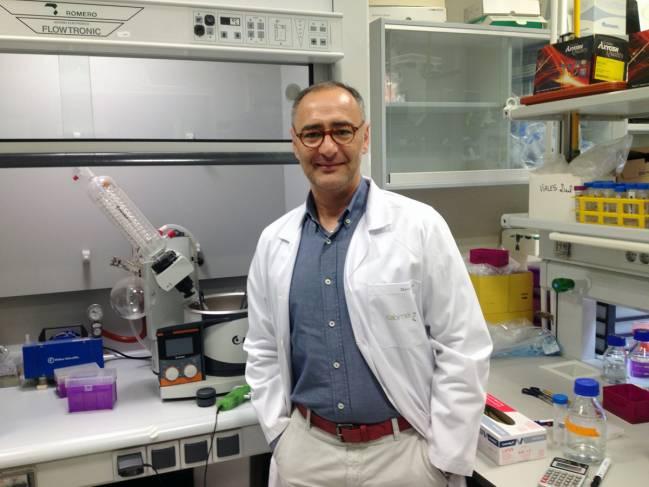 El investigador de CABIMER David Pozo