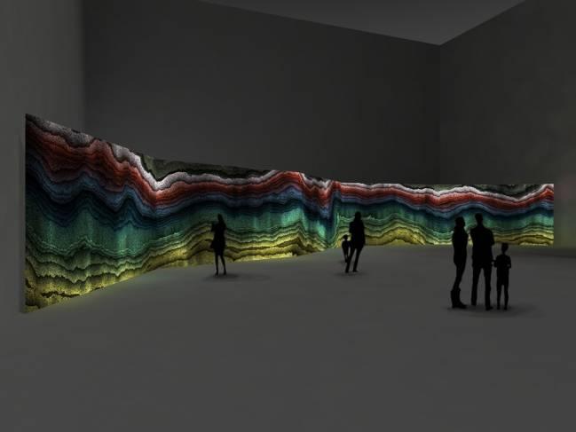 Geólogos de la Universidad de Barcelona colaboran en un proyecto artístico para convertir en registro sonoro los datos sismográficos de la explotación industrial de una gravera del grupo Sorigué en Balaguer (Lleida).