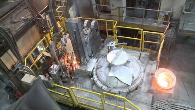 Proceso de fundición con la tecnología de plasma