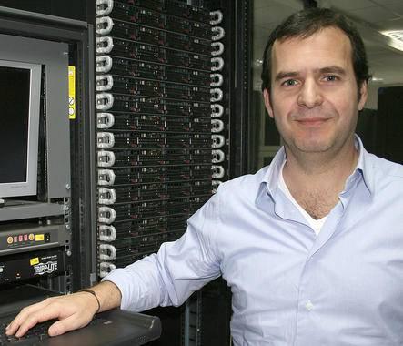 El catedrático de la Universidade de Vigo David Posada