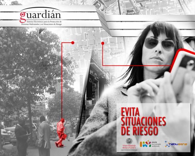 La empresa salmantina Nebusens, la Universidad de Salamanca y la compañía Oesia se unen para desarrollar un sistema que mantiene alejadas a personas maltratadas de sus presuntos agresores