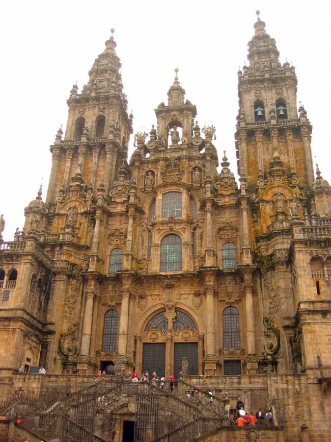 La catedral de Santiago de Compostela. Foto: Miguel V. Martínez.