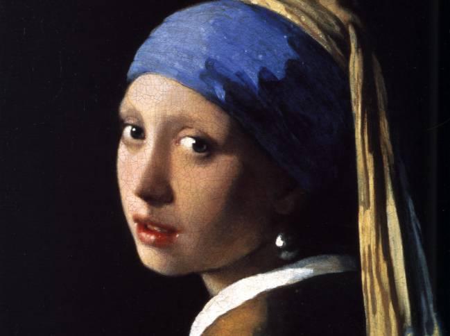 Niña con el Pendiente de Perla de Vermeer. / Wikipedia.