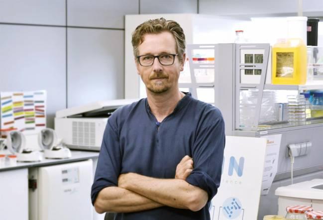 El investigador Manuel Porcar