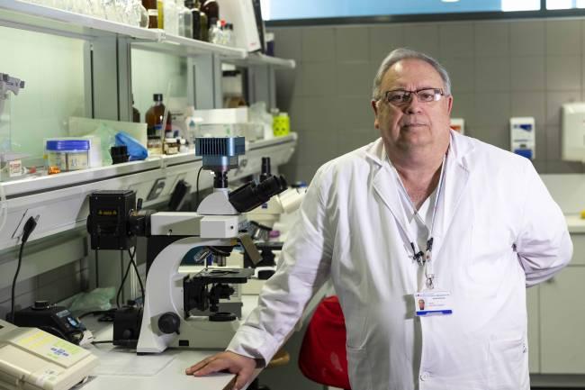 Jesús Vaquero, coordinador de los ensayos clínicos