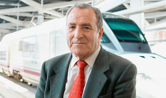 José Luis López Gómez desarrolló un sistema de suspensión de ruedas para mejorar los viajes en trenes de alta velocidad. / OEP