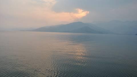 Lago Kivu.
