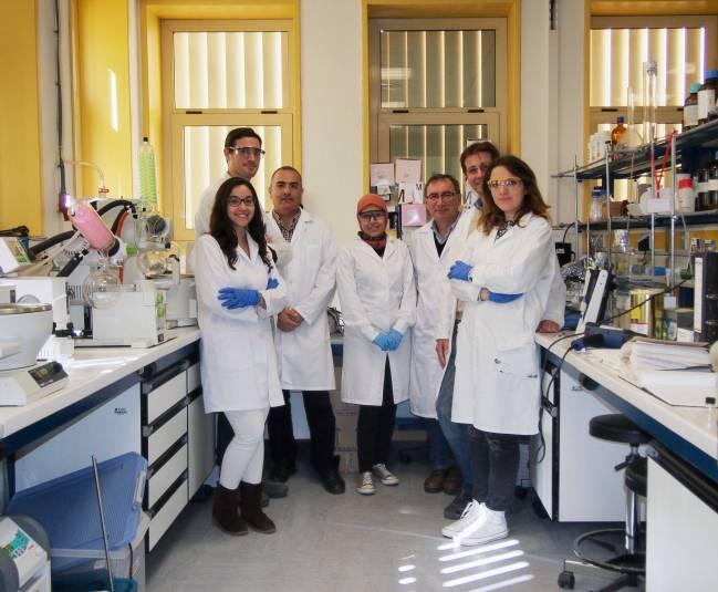 Investigadores del Departamento de Química y Física de la Universidad de Almería / Fundación Descubre