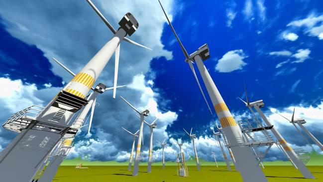El sistema será de gran utilidad a la hora de decidir donde se instala un parque de aerogeneradores. / Fotolia