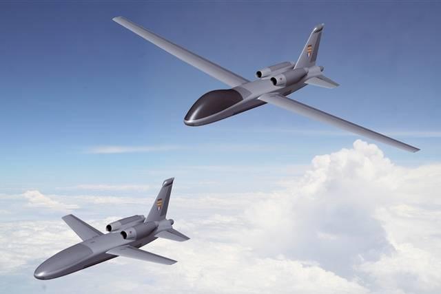 Aviones no tripulados. Fuente EADS-CASA.