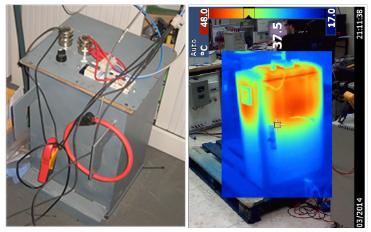 Ensayos de un prototipo y de de un regulador comercial en el laboratorio de máquinas eléctricas ETSI Industriales-UPM