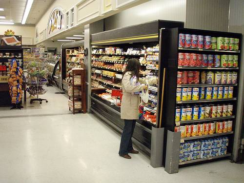 Supermercado. Foto: Daniel Lobo.