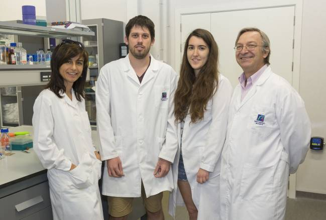 Miembros del Grupo de Investigación en Neurobiotecnología de la Universitat Jaume I de Castellón. Foto: UJI
