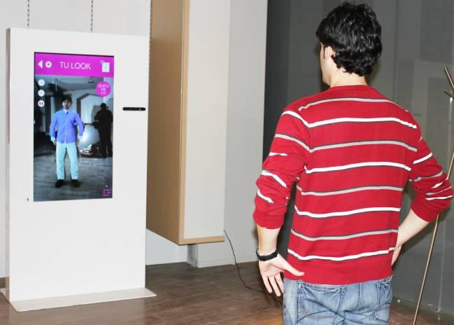 Probador virtual desarrollado por la spin-off de la UAB AITech