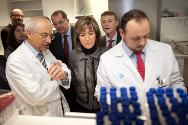 Inauguració laboratorio cardiologia experimetnal