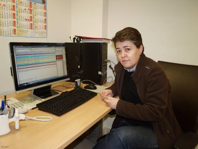 Araceli Queiruga, experta en criptografía de la Universidad de Salamanca. Foto: DiCYT.