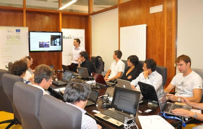 Los responsables de las experiencias piloto en cuatro países se reúnen en Vigo