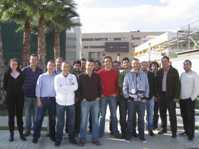 Grupo de investigación Automática, Mecatrónica y Robótica de la Universidad de Almería / Fundación Descubre