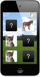 Imagen de la aplicación Picaa en un Ipod Touch.