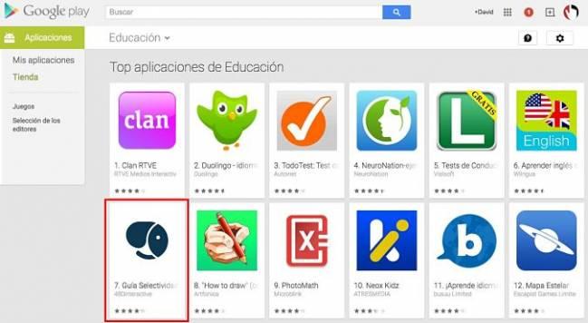 La guía entró en el top 10 de apps educativas de Google Play y App Store en su primera semana.