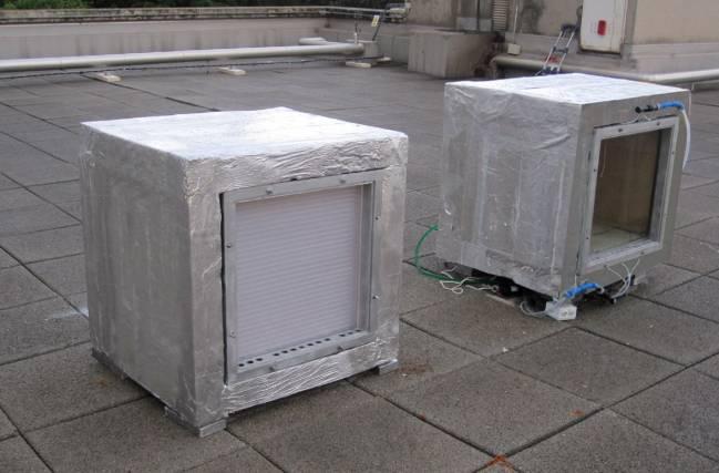 Sistema de ensayo para prestaciones energéticas.