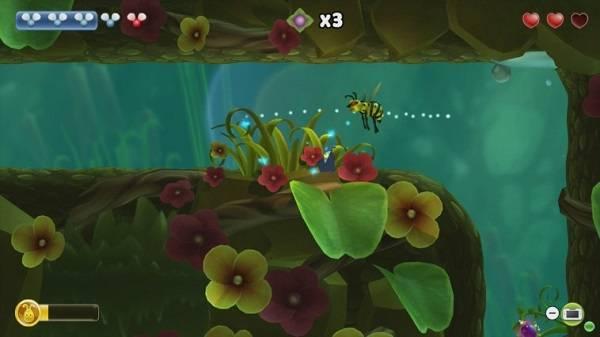 Imagen del videojuego Shiny the Firefly, de PadaOne Games. / Nintendo.
